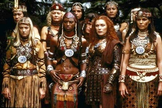The Amazons of Xena: Warrior Princess