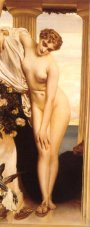 Aphrodite Disrobing, by Frederic Lord Leighton