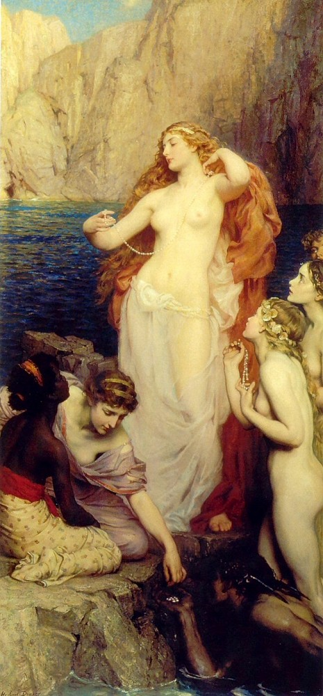The Pearls of Aphrodite, by Herbert Draper