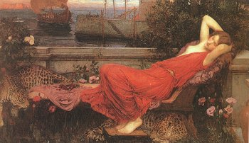 Ariadne, by John William Waterhouse