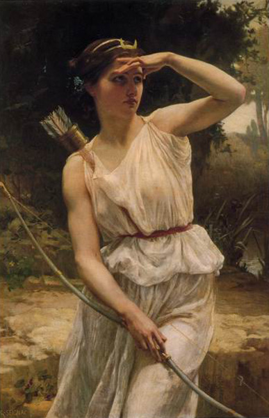 Diana Hunting, by Guillaume Seignac