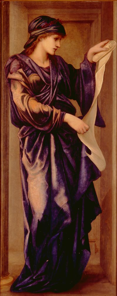 The Cumaean Sibyl, by Edward Burne-Jones