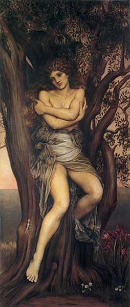 The Dryad, by Evelyn de Morgan