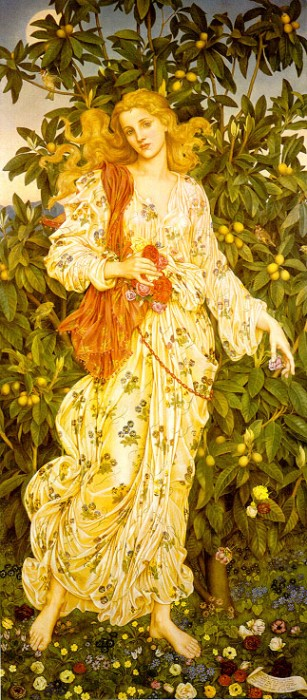 Flora, by Evelyn de Morgan