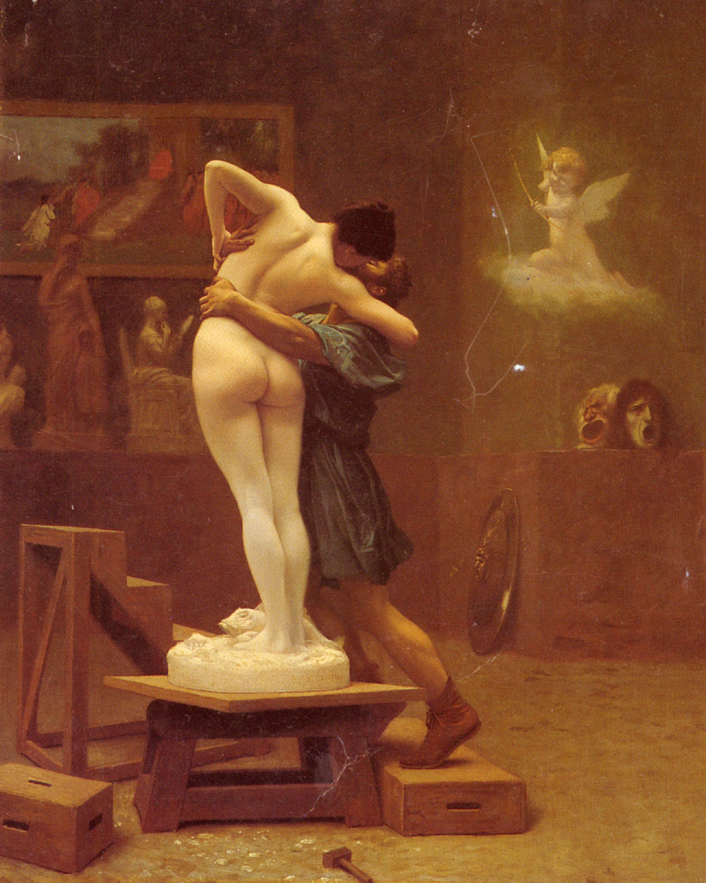 Pygmalion and Galatea, by Jean-Leon Gerome