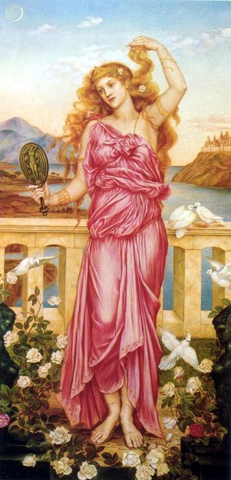 Helen, by Evelyn de Morgan