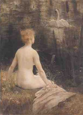 Leda and the Swan, by Henri Gervex
