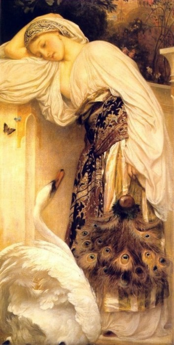 Leda, by Frederick Lord Leighton
