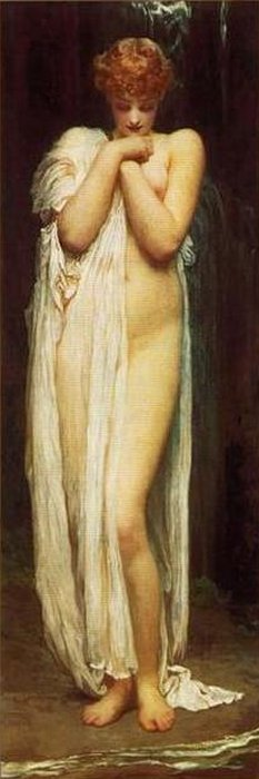 Nymph of the River, by Frederic Lord Leighton