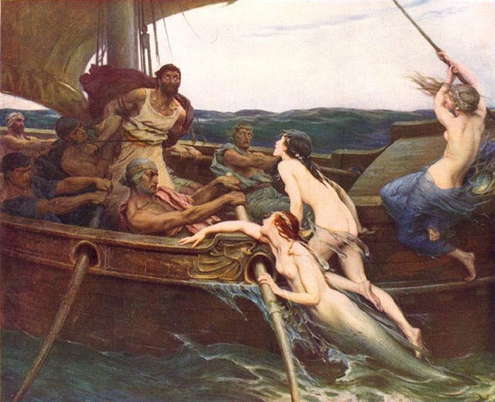 Ulysses and the Sirens, by Herbert Draper