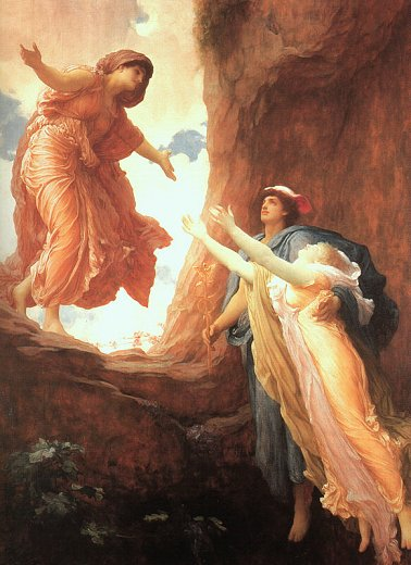 Persephone's Return, by Frederick Lord Leighton