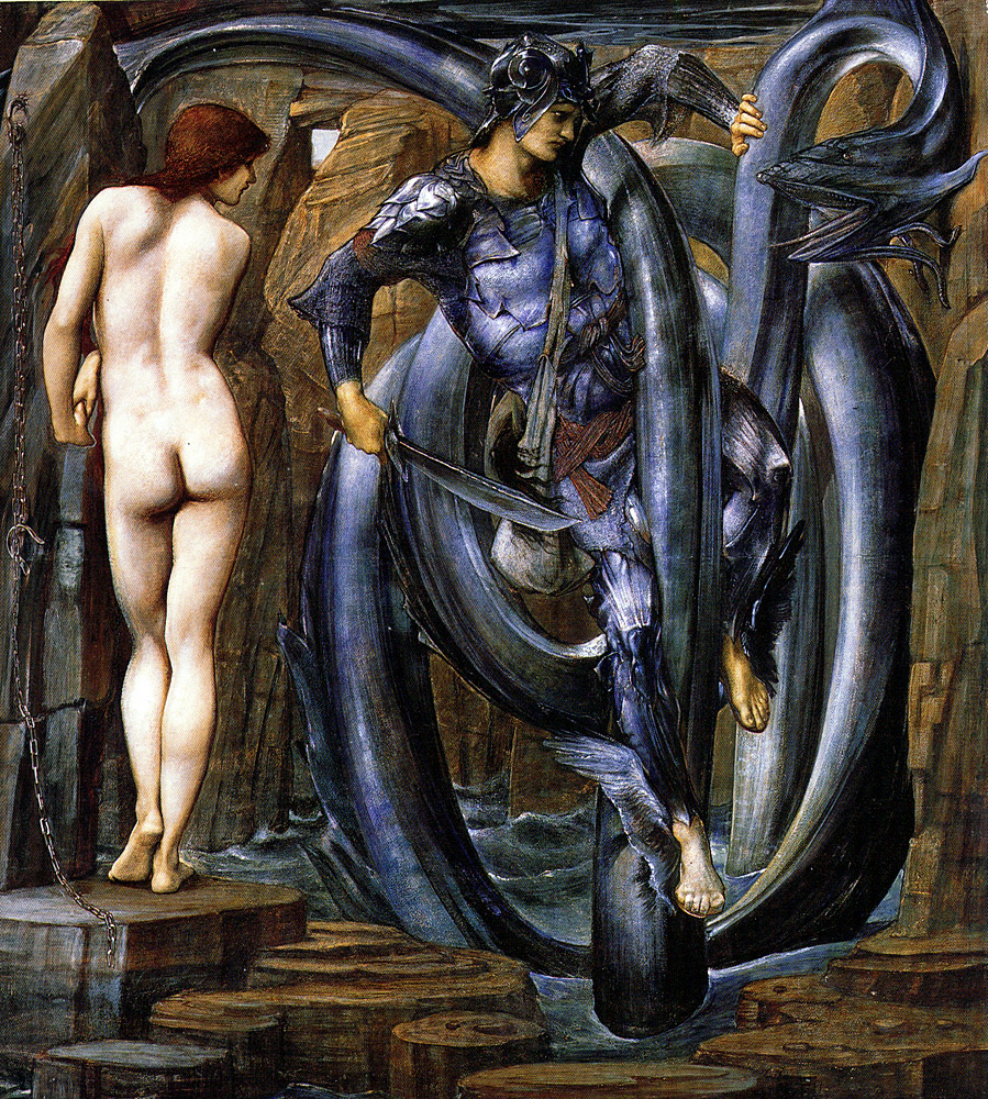 The Doom Fulfilled, by Sir Edward Burne-Jones