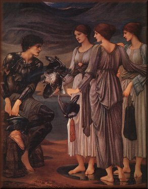 The Arming of Perseus, by Sir Edward Burne-Jones