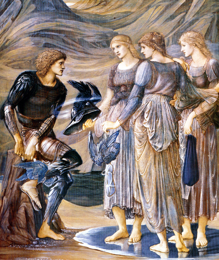 Perseus and the Sea Nymphs, by Sir Edward Burne-Jones