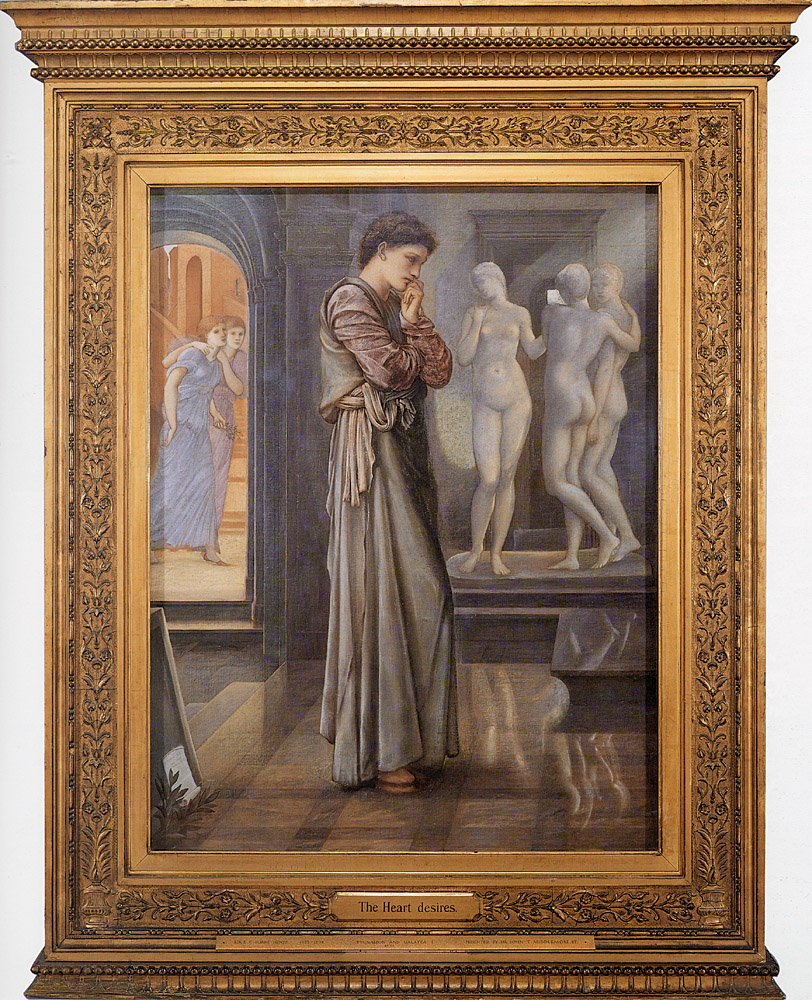 Pygmalion and the Image: I, the Heart Desires; by Edward Burne-Jones