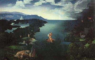 Charon Crossing the Styx, by Joachim Patinir