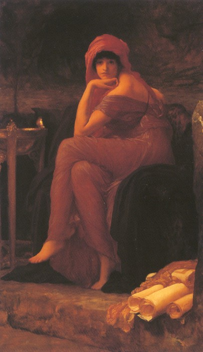 Sibyl, by Frederic Lord Leighton