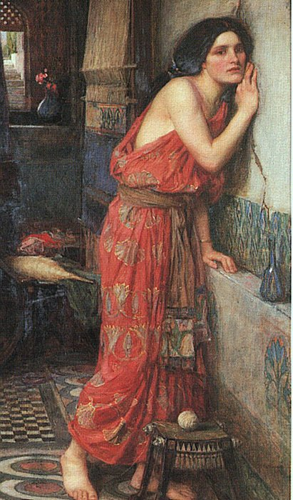 Thisbe, by John William Waterhouse