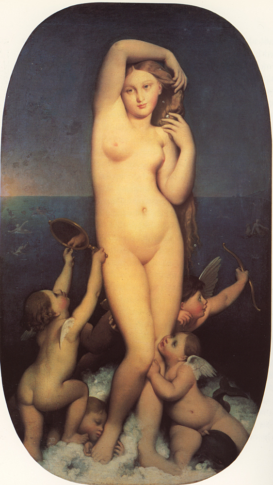 Venus, by Ingres