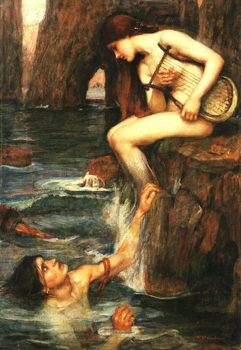 The Siren, by John William Waterhouse
